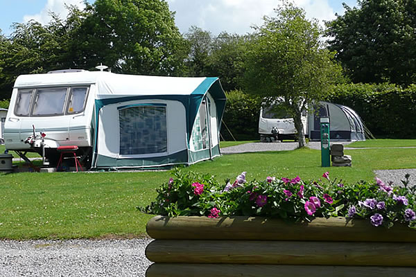 Touring Pitches on Exmoor