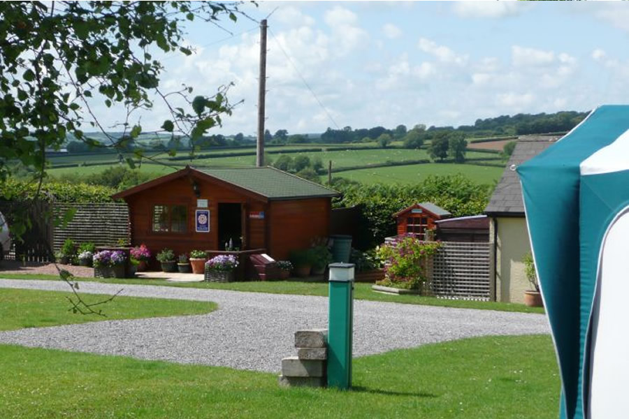 Seasonal Pitches at our Exmoor Caravan Park