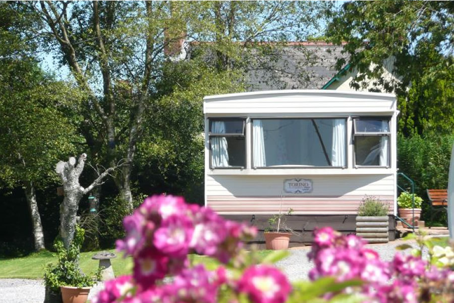Caravan and Camping Park in Exmoor - Adults only - Dogs Free